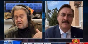 My Pillow Mike Lindell Goes 'End Times' On Vaccinations