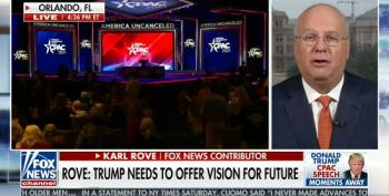 Karl Rove Shocked Only 55 Percent Of CPAC Goers Would Vote For Trump In Primary