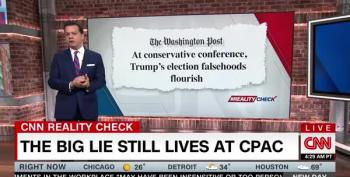 Reality Check: CPAC Embraces The Big Lie To Cover For Voter Suppression
