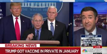 Trump Got Vaccinated Against 'Hoax Virus' In January And Didn't Tell Anyone