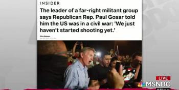 Rep. Paul Gosar Speaks At White Nationalist AFPAC, GOP Yawns