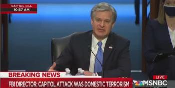 FBI Director Wray Testifies On Capitol Attack On Jan 6
