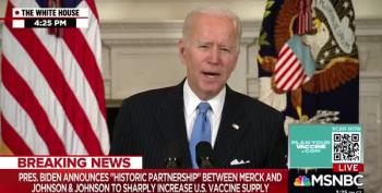 President Biden Announces Accelerated Vaccine Delivery