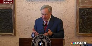 Texas Governor Tries To Change The Subject