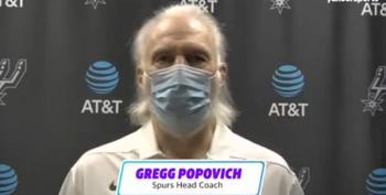 Gregg Popovich Slams Greg Abbott's Move To Open Texas Amid Pandemic