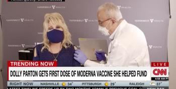 Dolly Parton Does A PSA For Vaccine Cowards