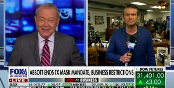 Fox Business Celebrates Ending Mask Mandates