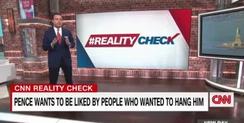 Reality Check: Pence Is Trying To Curry Favor With People Who Wanted To Kill Him