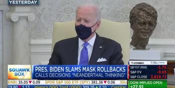 GOP Governors Angry Pres. Biden Used A 'Mean' Word Against Them For Discarding Mask Requirements