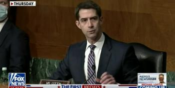 Sen. Cotton Upset With Temperament Of Biden's  Pentagon Nominee