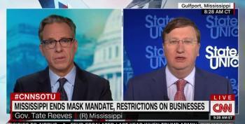Mississippi Gov. Defends Lifting Mask Mandate
