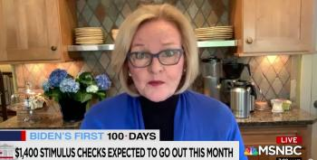Claire McCaskill Praises Chuck Schumer's Work In Pushing Through Pandemic Bill