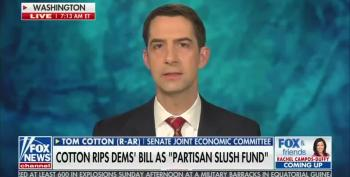Sen. Tom Cotton Lies About Prisoners Receiving Stimulus Checks Under Trump