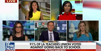 Fox News Wants To Fire All Teachers That Refuse To Go Back To Work