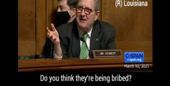 Sen. Kennedy Is Schooled On Dark Money's Influence