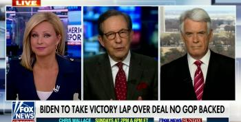 Chris Wallace Calls Out Larry Kudlow On Debt And Deficit
