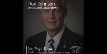 Capitol Rioters 'Love This Country' But Ron Johnson Might Have Been Concerned If Black Lives Matter Stormed Building