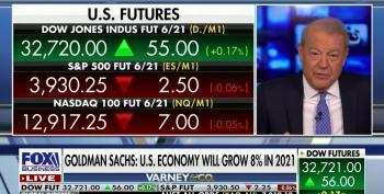 Stuart Varney Giddy At Goldman Sachs 8% Growth Prediction
