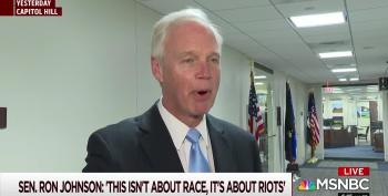 Ron Johnson Says He Will Not Be 'Silenced' Over His Racist Comments