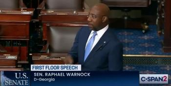 Rev. Sen. Warnock Calls Out Hypocrisy Of GOP Protecting Filibuster