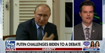 Rep. Matt Gaetz Roots For Putin