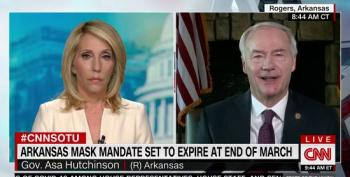 Arkansas Gov: Vaccine Hesitancy On The Right 'Natural Resistance To Government'