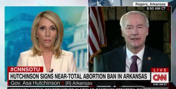 Gov. Hutchinson Signs Law He Hopes Will Overturn Roe V. Wade