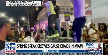 Fox Pretends Miami's Spring Break Chaos Is Vacation Ad