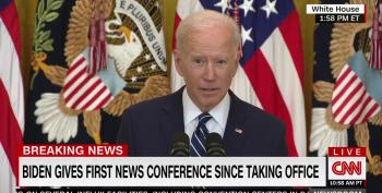 Biden Calls GOP Voter Suppression Tactics 'Sick'
