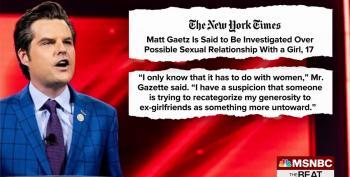 Matt Gaetz Responds To Report Of Sex Trafficking Investigation