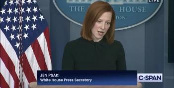 Fox Reporter Tries To Tone Police Jen Psaki And The White House