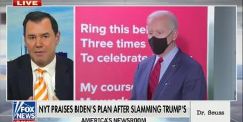 Fox News' Joe Concha Fumes Over Favorable Biden Coverage