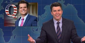 SNL's Colin Jost Roasts His 'Look-Alike' Matt Gaetz