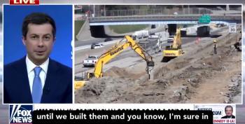 Pete Buttigieg Dismantles Fox News Over Infrastructure Plan