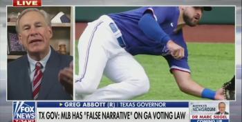 Gov. Abbott Refused To Throw Rangers First Pitch, Boycotting MLB