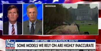 Brit Hume Turns 'Q' On Severity Of COVID19