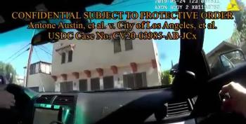 WATCH: Here's The Body Cam Video LAPD Tried To Keep Under Wraps