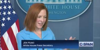 Another Garbage Question For Jen Psaki From The Beltway Press