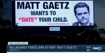 'Matt Gaetz Wants To 'Date' Your Child' Billboard Goes Up In Florida