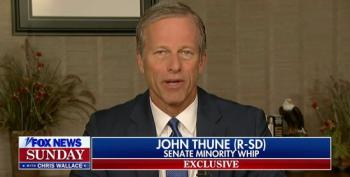 Sen. John Thune Refuses To Take On Trump For Attacks On Himself, McConnell