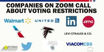 CEOs Hold Meeting To Fight Back Against State Voting Laws