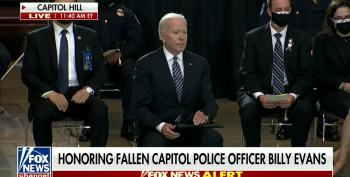Biden's Speech At Billy Evans' Memorial Gets Wide Praise, Even At Fox