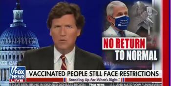 Tucker Carlson Spreads Anti-Vax Conspiracy Theory