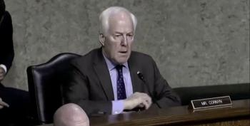 John Cornyn Embarrasses Himself, Part Infinity