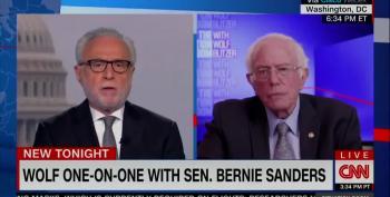 Bernie Sanders Gives Thumbs Down To Rashida Tlaib's Call To End Policing
