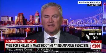CNN's Pamels Brown Corners GOP Rep. On Gun Policy