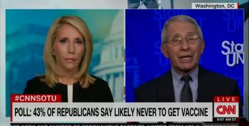 Dr. Fauci: Anti-Vaxers Want To Be Free From CDC Guidlelines But Refuse To Get Vaccines