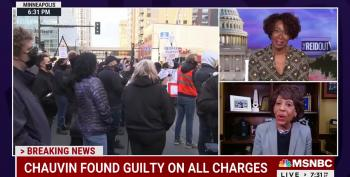 Rep. Waters On Chauvin Verdict: 'Today Is Very Special'