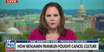 Fox News Claims Benjamin Franklin Was A Cancel Culture Warrior