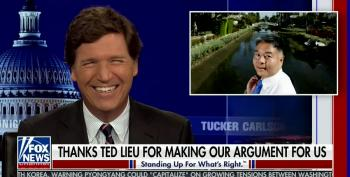Tucker Cackles As His White Replacement Theory Is Punked